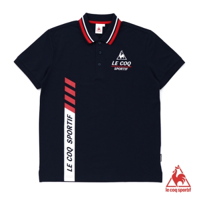 法國公雞牌短袖POLO衫 LWL2114239-男-藏青