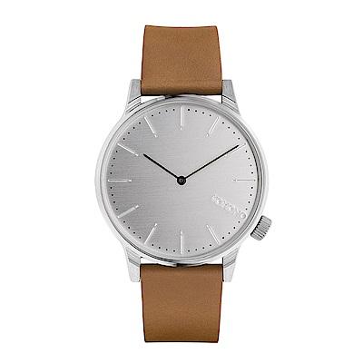 KOMONO Winston 手錶-都市棕/41mm