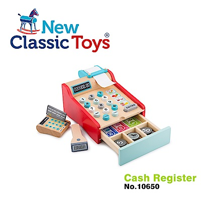 荷蘭New Classic Toys 木製收銀機玩具 - 10650