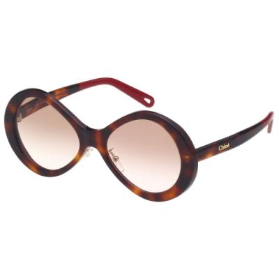 CHLOE 太陽眼鏡(琥珀色)CE2743SA