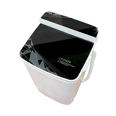 福利品 EDISON愛迪生 5.8KG 定頻直立式洗衣機 E0001-B58Z 幾何黑