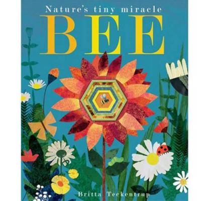 Bee:Nature s Tiny Miracle 小蜜蜂忙碌的一天 疊層洞洞書(平裝本)