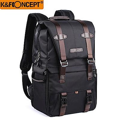 【K&F Concept】時尚者 專業攝影單眼相機後背包-黑色款(KF13.092)