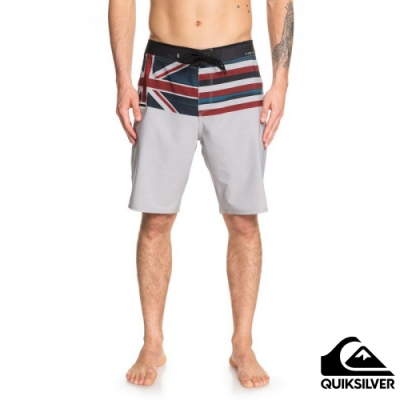 【QUIKSILVER】HIGHLINE BLACKOUT 20 衝浪褲 灰