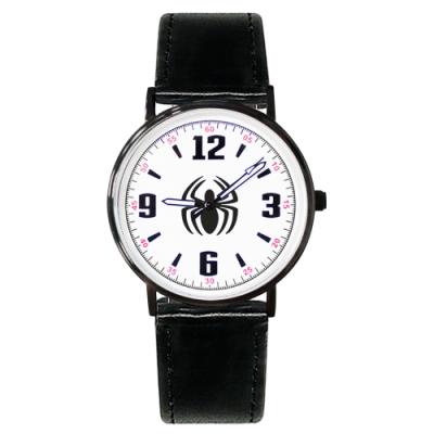 Disney迪士尼 Marvel漫威蜘蛛人超薄鏡面皮帶手錶40mm