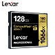 Lexar 雷克沙 1066x Compact Flash 高速記憶卡 128GB 公司貨 product thumbnail 1