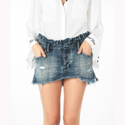 ONETEASPOON LE CULT牛仔短裙