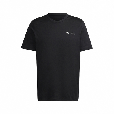 adidas T恤 Graphic Tee 辛普森家庭 男款 愛迪達 The Simpsons 滑雪橇 黑 白 GS6221 購