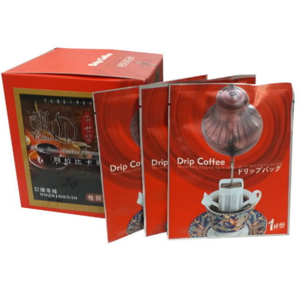 東山阿拉比卡濾掛式/掛耳咖啡(10入x6盒)