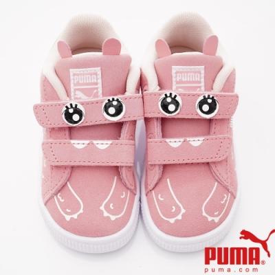 PUMA童鞋 造型童趣休閒鞋款 TH71097-02粉(小童段)