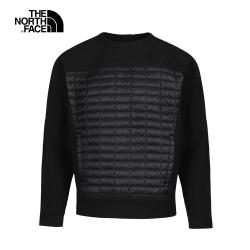 The North Face北面男款黑色戶外衝鋒衣|46GZJK3