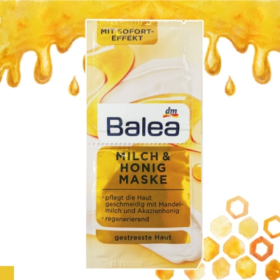 德國 芭樂雅 BALEA 蜂蜜 牛奶 滋養 再生 泥膜 6入組