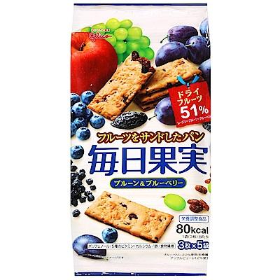 Glico固力果 每日果實藍莓餅乾(112.5g)