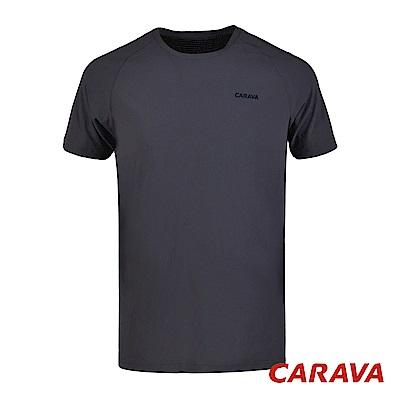 CARAVA《男款氣冷式涼爽T》(暗夜藍)