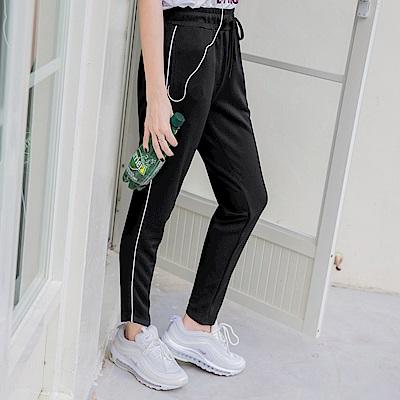 台灣製造抽繩鬆緊吸濕排汗運動長褲-OB嚴選