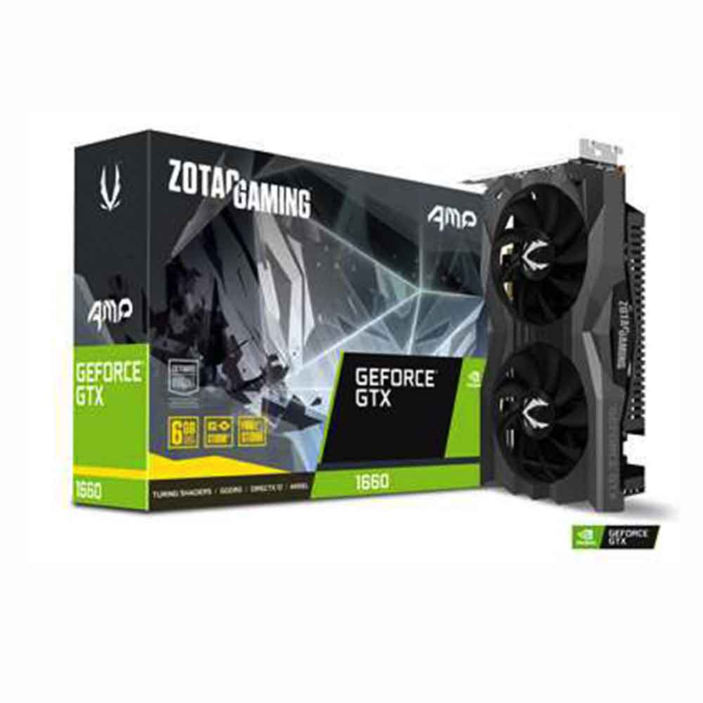 ZOTAC 索泰 GeForce GTX  1660  AMP Edition 顯示卡