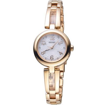 SEIKO VIVACE 甜蜜心情時尚腕錶(SWFH072J)25mm