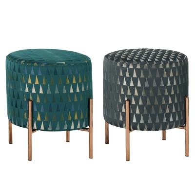 Boden-貝妮莎造型小圓凳/圓型椅凳/矮凳/小椅子(二色可選)-39x39x43cm
