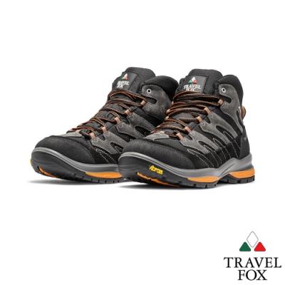 TRAVEL FOX(男)虎爪 登山越野防水禦寒防震專業戶外登山鞋 - 桔
