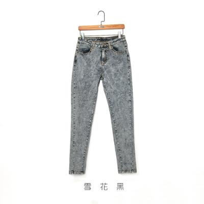 gozo 彈力修身窄管牛仔褲(二色)