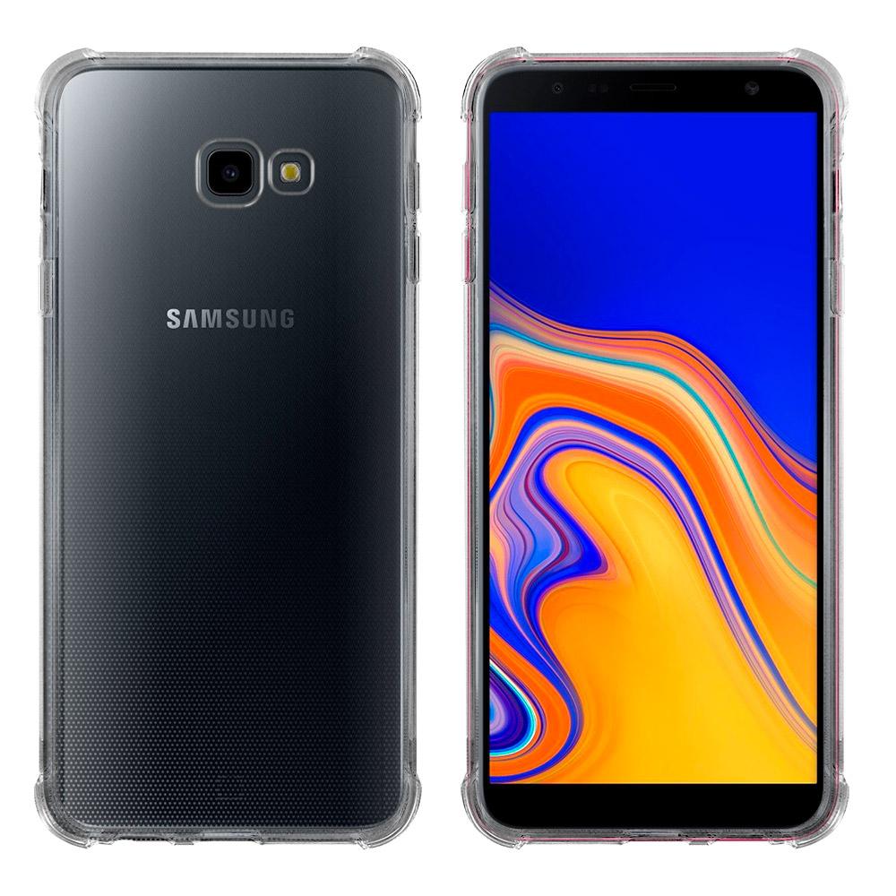 Metal-Slim Samsung Galaxy J4+ 防摔抗震空壓手機殼