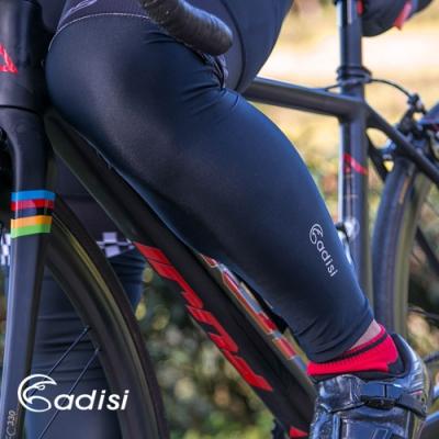 ADISI 自行車腿套AS16128 黑色