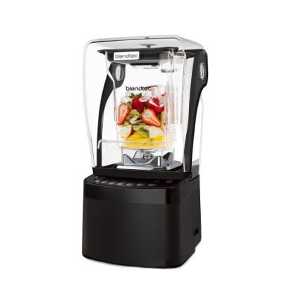 【Blendtec】美國高效能食物調理機  超靜音885-尊爵黑 附4角容杯x2