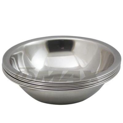omax高級不銹鋼湯碗(21cm-大) 6入+保溫保冷袋1入(隨機出貨)-快