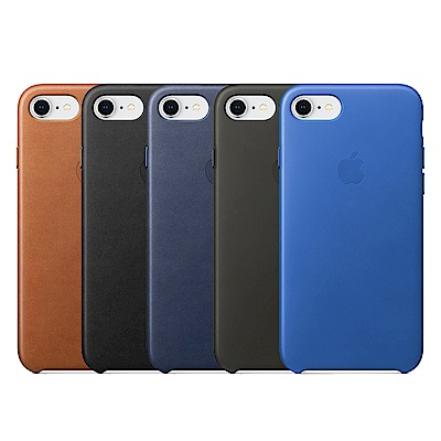 Apple iphone 7 8原廠皮革保護套