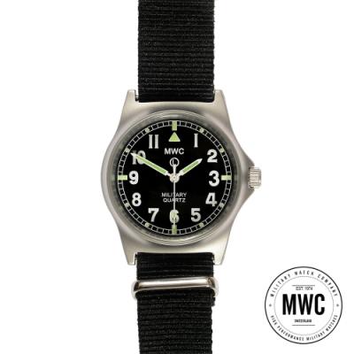 MWC瑞士軍錶 G10LM步兵系列 黑色 軍事設計錶 -黑色/35mm