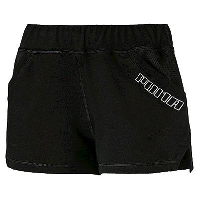 PUMA-女性訓練系列Yogini 3吋短褲-黑色-歐規
