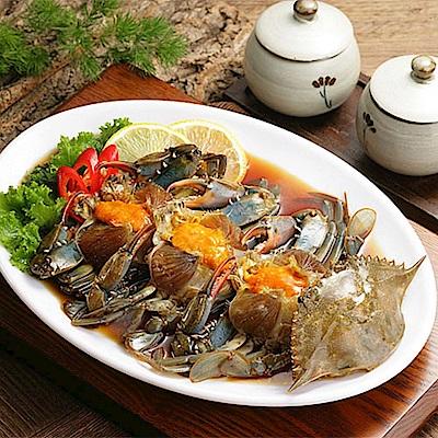 【韓味不二】醬油醃螃蟹(200g)