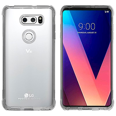 Metal-Slim LG V30 防摔抗震空壓手機殼