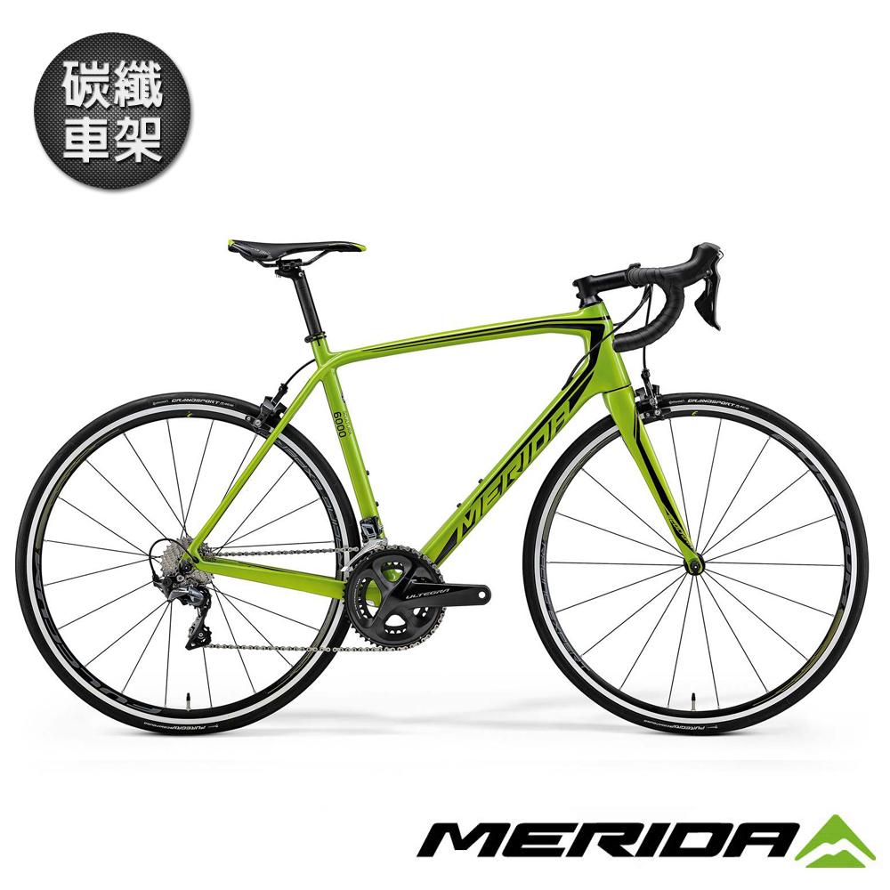 《MERIDA》美利達全能型碳纖跑車 SCULTURA 斯特拉6000 綠 2018