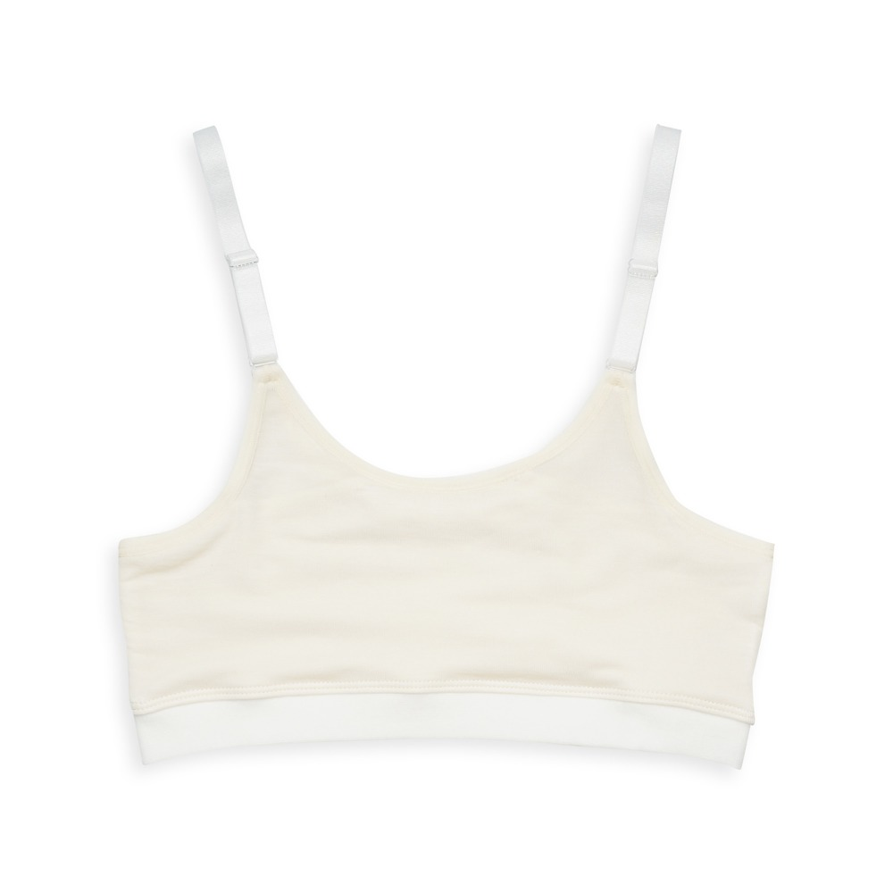 anny pepe 成長型內衣 95%天絲可調肩帶型-膚色