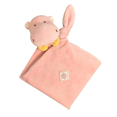 美國miYim有機棉 安撫巾-喜寶河馬