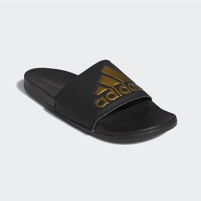 ADIDAS 拖鞋 運動 休閒 男鞋 女鞋 黑金 EG1850 ADILETTE COMFORT SLIDES