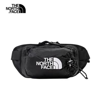 The North Face北面男女款黑色便捷休閒腰包 52RWJK3