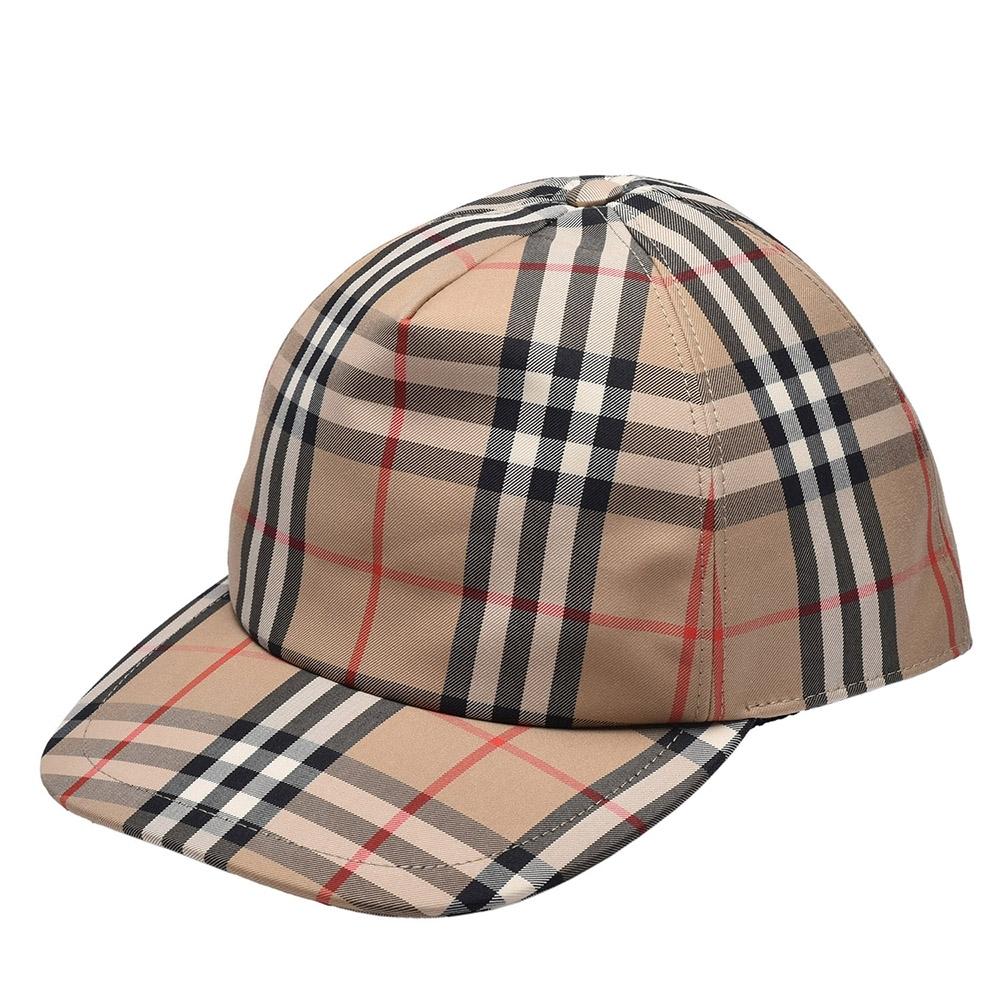 BURBERRY 經典Vintage格紋品牌標誌棒球帽(古典黃)