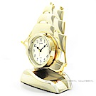 RHYTHM麗聲 風帆鐘擺造型座鐘/26cm