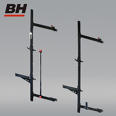 【BH】WM045 牆面固定可折收多功能重量訓練架