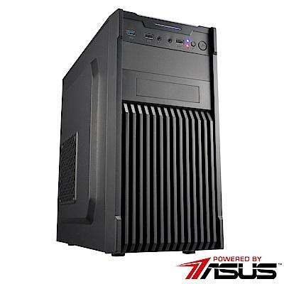 華碩B365平台 [飛凌劍尊]i3四核GT710獨顯SSD電玩機