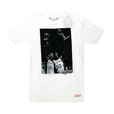 M&N NBA Photo Real 短袖T恤 馬刺隊