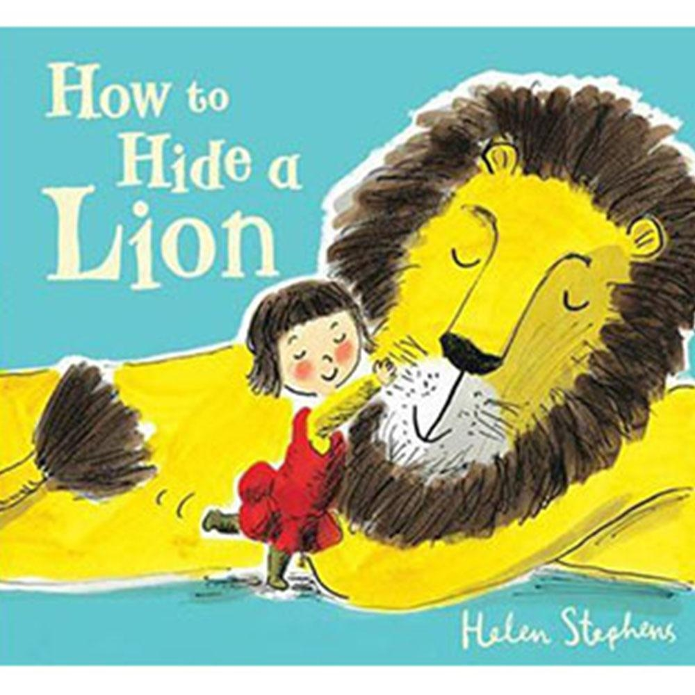 How To Hide A Lion 獅子藏身大作戰平裝繪本