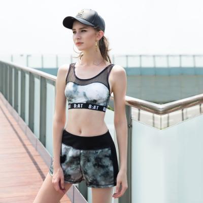 8:AT短褲  M-XL(潑墨黑)