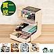 [買一送一]佶之屋 木質DIY多功能文件電話收納架 共2入 product thumbnail 1