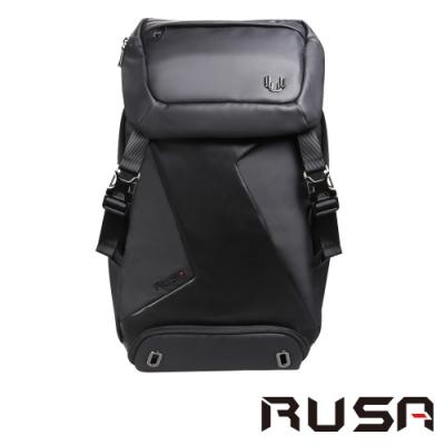 RUSA 15.6吋可拆式後背包(RS-507/皮革黑)