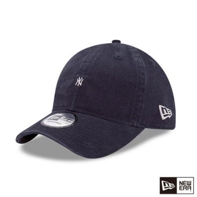 NEW ERA 9THIRTY 930 MICRO LOGO 洋基 海軍藍