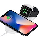 Qi-P08 手機/Apple Watch 二合一10W快充無線充電板
