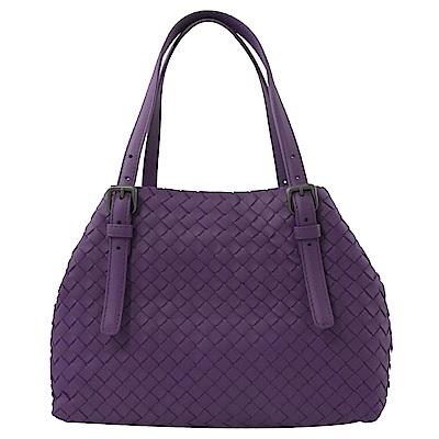 BOTTEGA VENETA經典編織經典托特包款(紫)